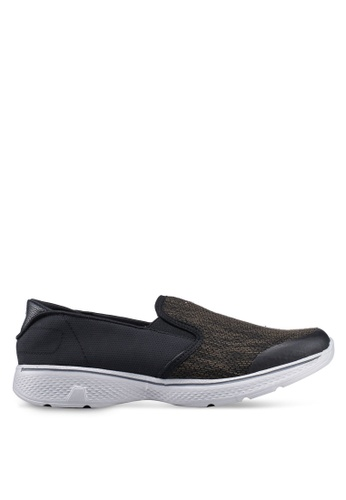 UniqTee 黑色 Lightweight Slip-On Sport Shoes Sneakers EA661SH93A0952GS_1