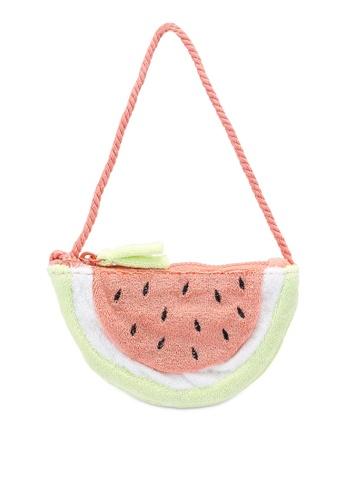 MANGO BABY red Watermelon Texture Bag 0DD58KCDBC7504GS_1