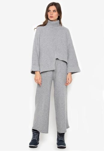 NOBASIC grey Woolen Set 35B0FAA3AEE9E5GS_1