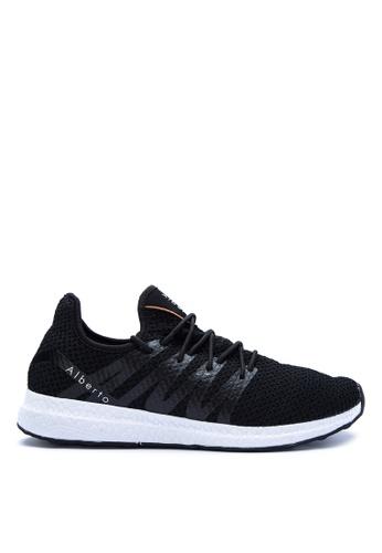 Alberto black Lace-up Sneakers AL375SH0K43WPH_1