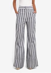 AfiqM blue Striped Suit Pants AF546AA0S2M9MY_1
