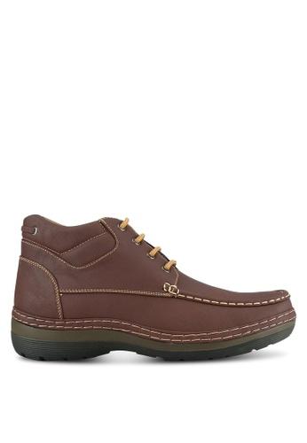 Albertini brown Lightweight Boots AL779SH0SAWVMY_1