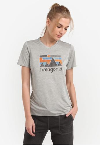 Patagonia grey Cap Daily Graphic T-Shirt PA549AA0RQBWMY_1