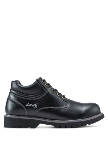 Louis Cuppers black Lace-Up Boots LO977SH56ZKPMY_1