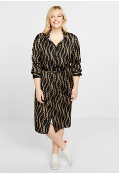 fa94c181bf6f 46% OFF Violeta by MANGO Plus Size Scarf-Print Long Dress RM 313.90 NOW RM  169.00 Sizes S M L XL XXL
