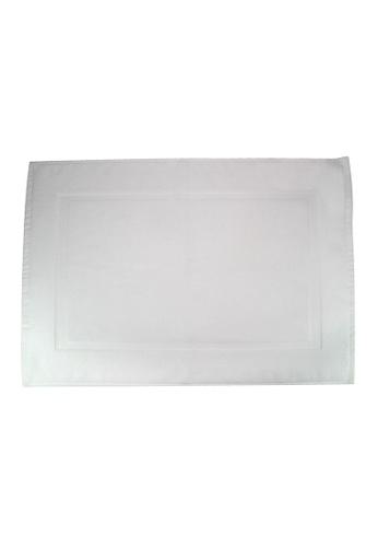 Martex SET OF 2 Martex (USA) RIVAGE 100% Combed Cotton Terry Bath Mat / 50 x 70cm/294g. BCBF3HLF0B7089GS_1