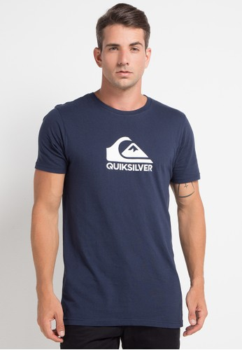 Quiksilver multi and navy As Basic Logo T-Shirt 1D6A1AA4E31CBCGS_1