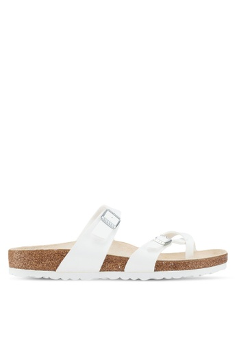 Birkenstock white Mayari Birko-Flor Sandals 51F4FSHA8D2051GS_1