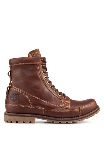 Timberland brown Earthkeepers Original 6 Inch Boots TI845SH93NRMSG_1