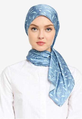 Hijabii blue Linda Shawl in Blue 29A52ACA4B1789GS_1