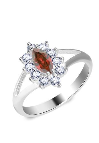 SC Tom Silver silver Birthstone Ring SC872AC0JAE9PH_1