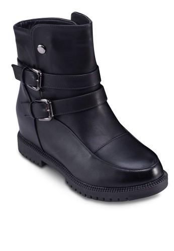 鉚釘飾帶時esprit outlet 旺角尚踝靴, 女鞋, 鞋