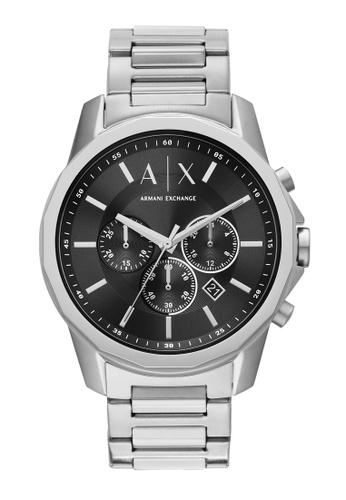 Armani Exchange silver Watch AX1720 0F329ACDD982FDGS_1