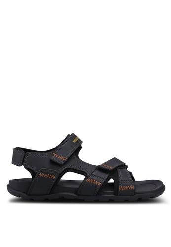 Weinbrenner black Weinbrenner Men Strap On Sandals AEF05SH72834AEGS_1