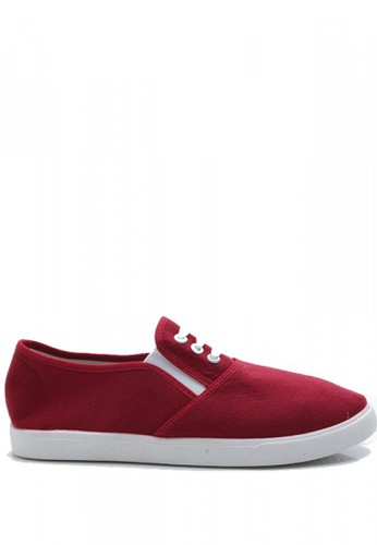 Dr. Kevin red Dr. Kevin Women Slip On 5309 - Red DR982SH98WFXID_1