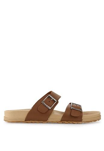 Homyped brown Navara 01 Men Sandals HO842SH23JBSID_1