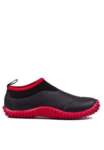 Twenty Eight Shoes 黑色 VANSA 男女款前衛設計的雨鞋 VSU-R30 72C72SH1222E3BGS_1