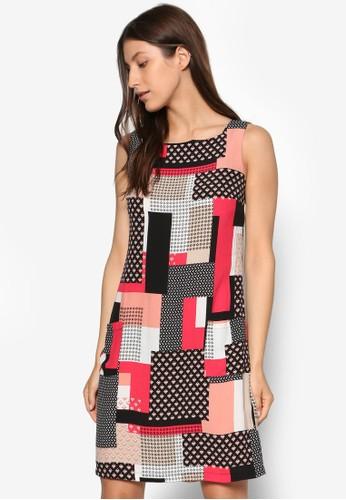 Petite 印花直筒洋裝, 服飾,esprit香港分店 洋裝