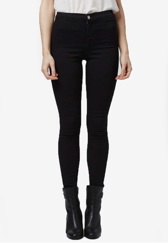 TOPSHOP black Petite Holding Power Joni Jeans TO412AA76VJZMY_1