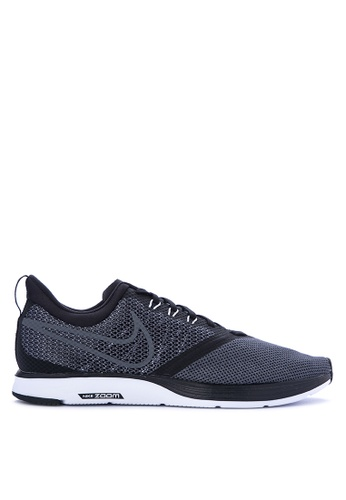 Nike black Men's Nike Zoom Strike Running Shoes NI126SH0KPYEPH_1