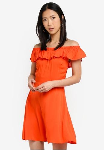 17891bdf2d32 Shop Brave Soul Off The Shoulder Dress Online on ZALORA Philippines
