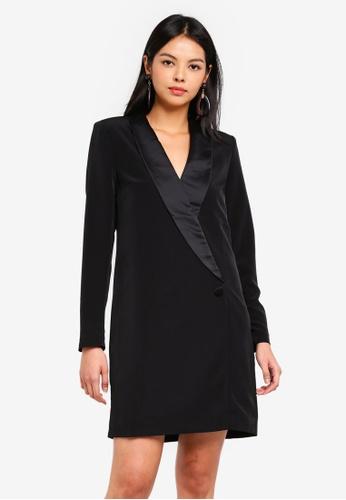Vero Moda black Elsa Blazer Dress 5553BAAC054A9AGS_1