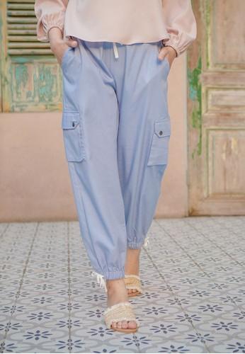 Jual Hijabchic Cleona Blue Original Zalora Indonesia