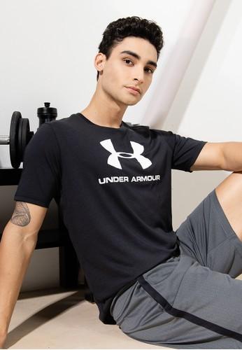Under Armour black Sportstyle Logo Short Sleeve Tee B338EAAD8FD8B3GS_1