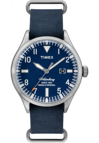 Timex blue and silver Timex The Waterbury TW2P645 45244AC6E6931AGS_1