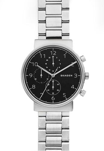9b2a09d27 Buy Skagen Skagen Ancher Silver Watch SKW6360 Online on ZALORA Singapore