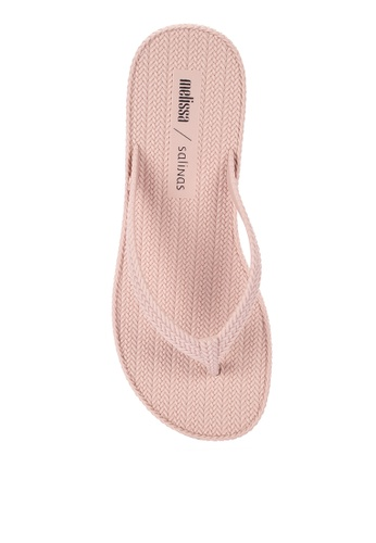 ad77ba62ce16 Shop Melissa Braided Summer Salinas Flip Flops Online on ZALORA Philippines
