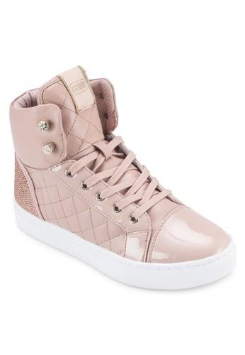 Janis 軟襯高筒運動鞋, zalora 順豐女鞋, 鞋