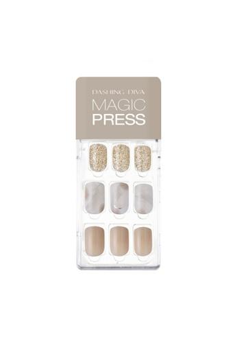 Dashing Diva DASHING DIVA Magic Press Mani Marble Beige MDR627 (SOFT SHINE) C02D0BE1B18B8AGS_1