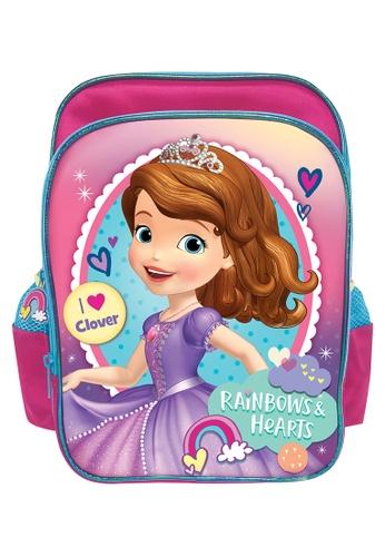 Disney Sofia The First blue and purple Disney Sofia Rainbow Kids Backpack (12-inch) FA9E1KCC1C87E5GS_1