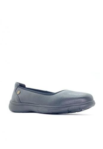 Hush Puppies black Womens Causal Shoes Loren Slip On II 0DE56SHFB8E209GS_1