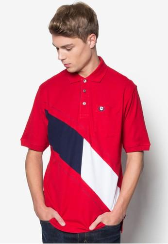 色塊POLO 衫, 服飾esprit門市, Polo衫