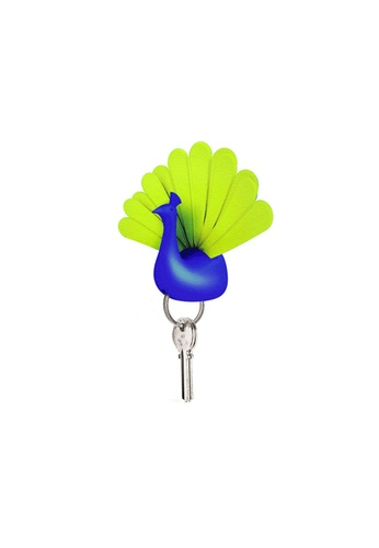 Qualy Qualy Peacock Key Holder (Blue/Green) FE57AHL95639F0GS_1