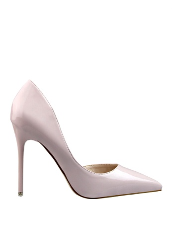 Twenty Eight Shoes grey Unilateral Open Evening and Bridal Shoes VP-6385 55F24SHAAF5F9EGS_1