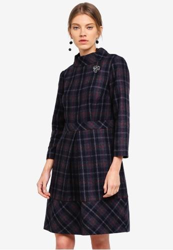 ESPRIT grey Woven Mini Dress 2E8ADAA59E76A0GS_1