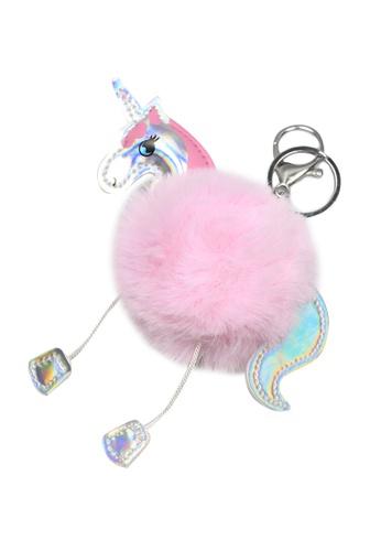 Dazz pink Unicorn Keychain - Pink 8DBF3ACA5CB4ADGS_1