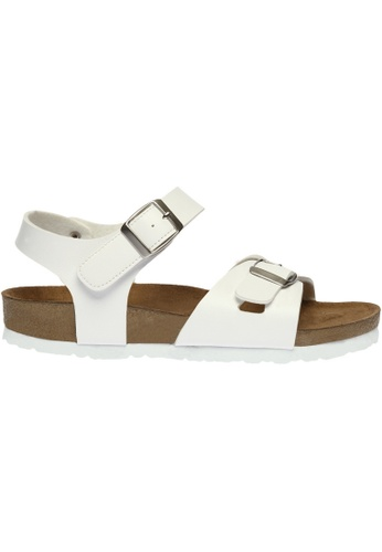 paperplanes white SNRD-218 Casual Summer 2-Belts Ankle Strap Sandals Shoes  US Women