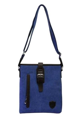 Dooka blue Messenger Bag MV DO079AC51BDOPH_1