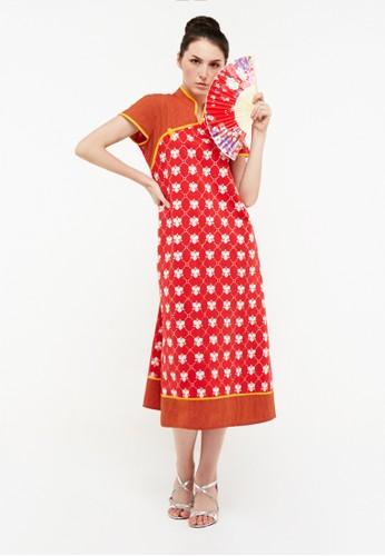 Kimore Studio red Cheongsam Dress Jasmine 894A0AAFB3A789GS_1