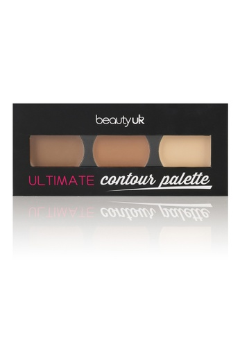 Beauty UK Ultimate Contour Palette BE783BE22OWRSG_1