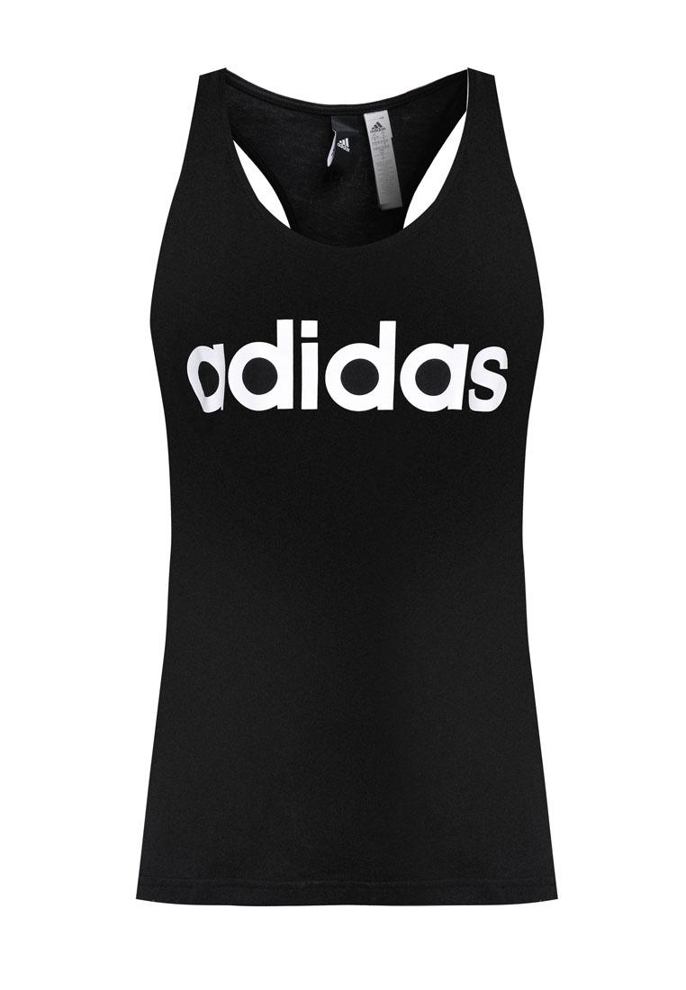 Linear Top Black Essentials Tank adidas adidas q4pREp