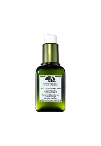 Origins Origins DR. ANDREW WEIL FOR ORIGINS Mega-Mushroom Relief & Resilience Advanced Face Serum (30ml) 00C7EBE6B327F7GS_1