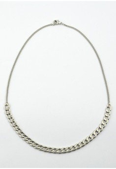 Two Type Chain Necklace