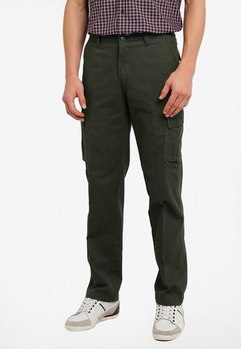 BGM POLO green Cargo Long Pants BG646AA0S0L6MY_1