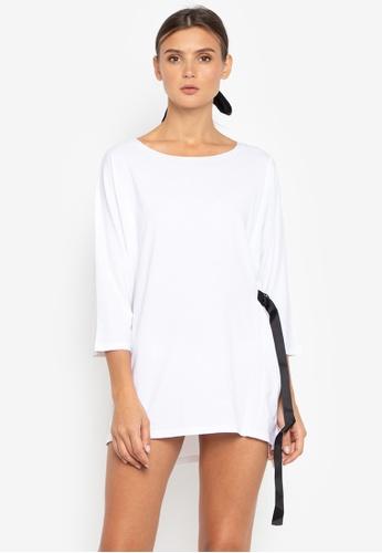 Susto The Label white Deva Tie Dress A2429AA1DB0344GS_1