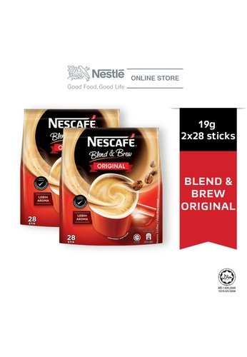 NESTLE NESCAFE Blend and Brew Original 28 Sticks 19g, Bundle of 2 570ADES2797A7CGS_1